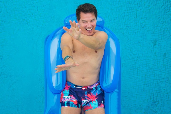 FOR EDITORIAL USE - John Barrowman is shooting a new film with TUI which sees him star as 'The Holiday Feeling'. He is spending the week at the TUI Sensatori Resort in Punta Cana, Dominican Republic shooting the content which will be released this summer.